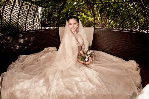 Thu Ngọc (Mây Trắng) làm cô dâu - 1