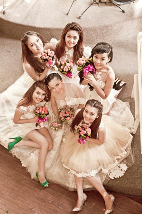 Thu Ngọc (Mây Trắng) làm cô dâu - 5