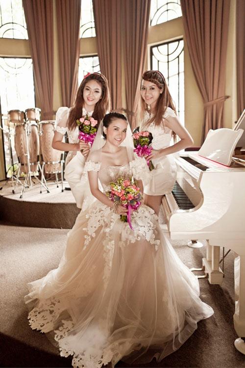 Thu Ngọc (Mây Trắng) làm cô dâu - 3