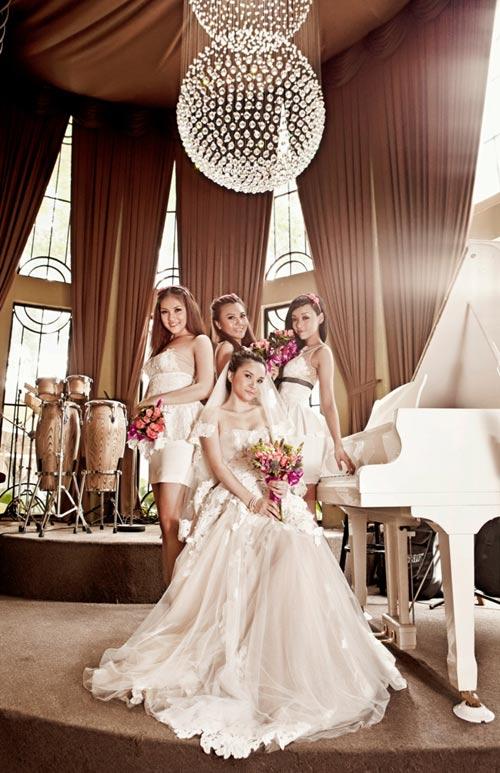 Thu Ngọc (Mây Trắng) làm cô dâu - 4