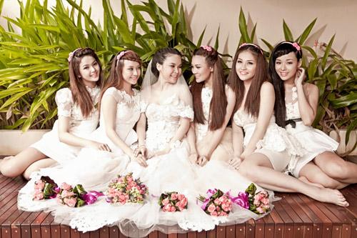 Thu Ngọc (Mây Trắng) làm cô dâu - 7