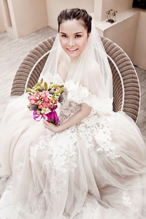 Thu Ngọc (Mây Trắng) làm cô dâu - 2