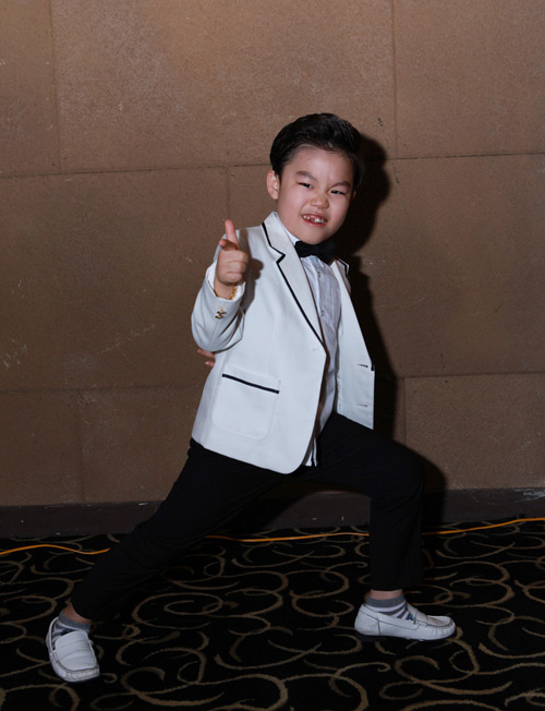 Psy nhí về Việt Nam đóng phim Tết - 10