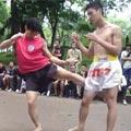 Video: Biểu diễn võ gậy tại CV Bách Thảo - 3