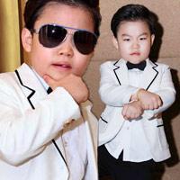 Psy nhí về Việt Nam đóng phim Tết