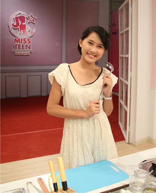 Miss Teen xinh đẹp thử tài vào bếp - 3