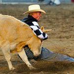 Thể thao - KP võ thuật: Tay không vật trâu nặng 700kg