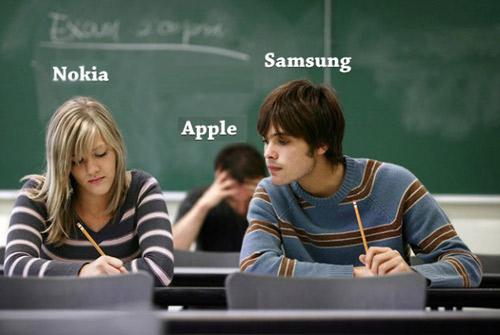 Samsung thống trị điện thoại di động 2012 - 2