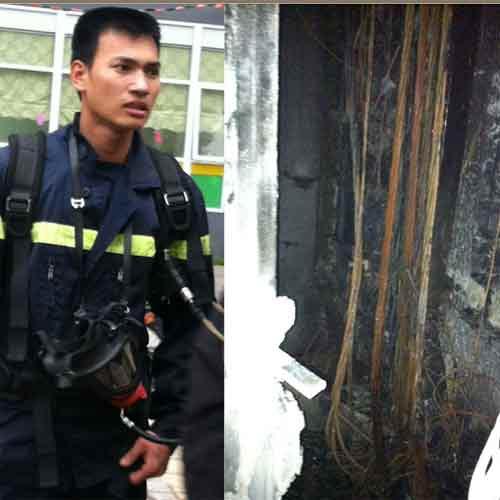 Cháy chung cư 31 tầng, cả trăm người bỏ chạy - 5