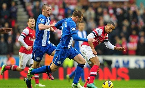 Wigan - Arsenal: Chấm 11m quyết định - 1