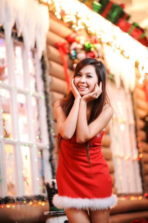Imiss Thanh Hương gợi cảm đón noel - 2