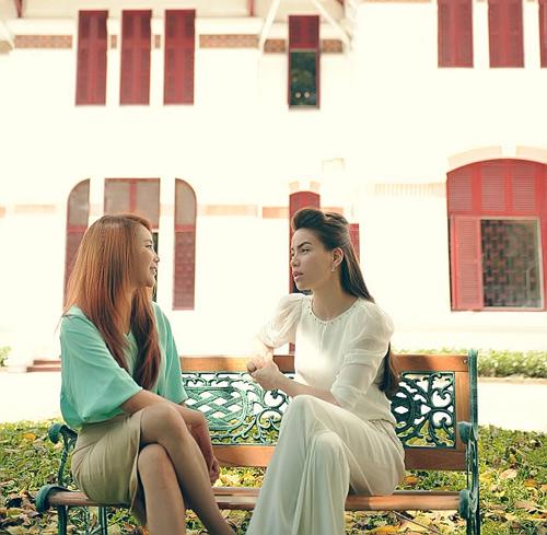 Hương Hồ đọ sắc với Hà Hồ - 2
