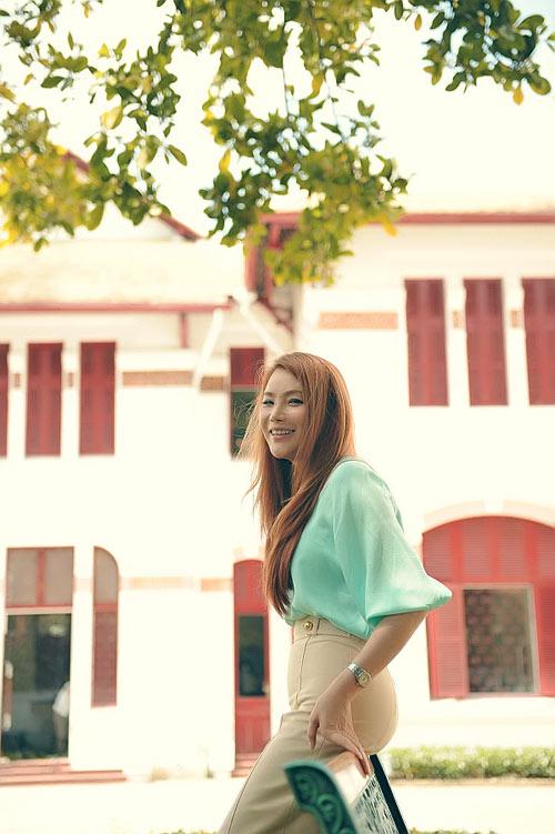 Hương Hồ đọ sắc với Hà Hồ - 4