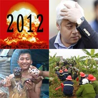 Những sự kiện KT - XH nổi bật 2012