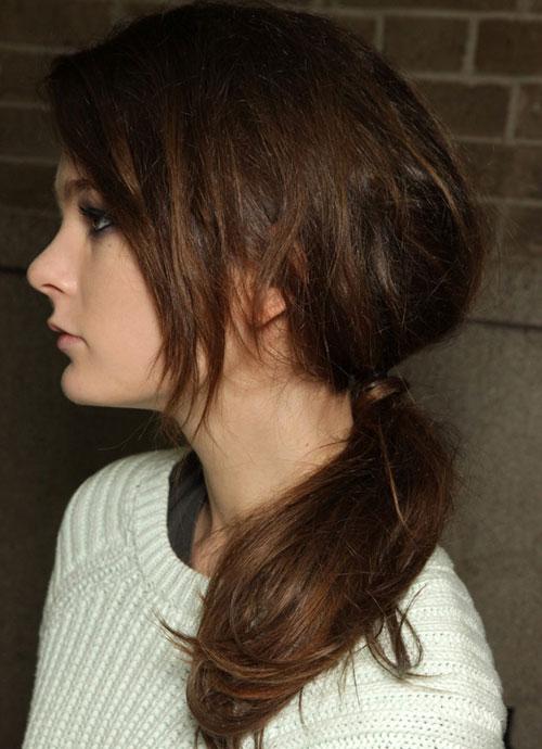 Biến tấu với tóc cột đuôi ngựa - 8