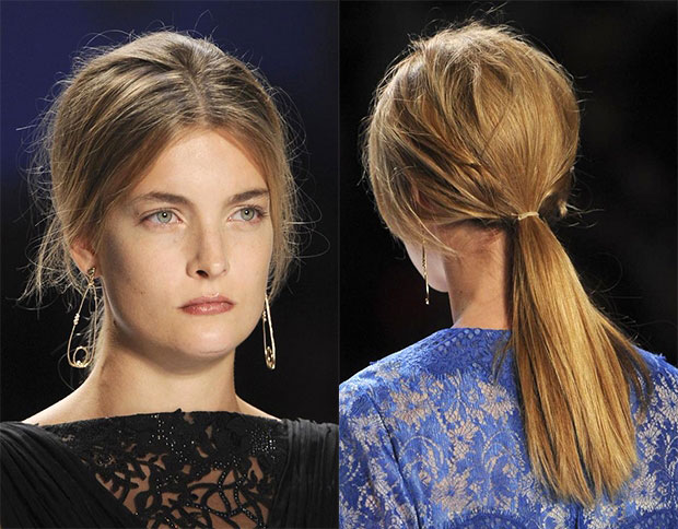 Biến tấu với tóc cột đuôi ngựa - 14