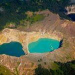Du lịch - Hồ đổi màu ở Indonesia