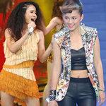 Ca nhạc - MTV - Bất ngờ với vẻ sexy của Đinh Hương, Đồng Lan
