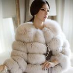 Thời trang - Sang trọng, sành điệu với áo khoác lông