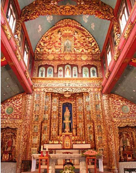 Đêm Noel lung linh ở nhà thờ đá Phát Diệm - 11
