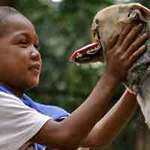 Tin tức trong ngày - Philippines: Cứu 2 cô chủ, chú chó mất hàm