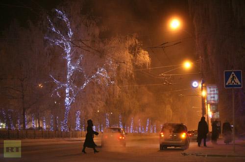 Chùm ảnh: Giá rét kỷ lục ở Nga - 11