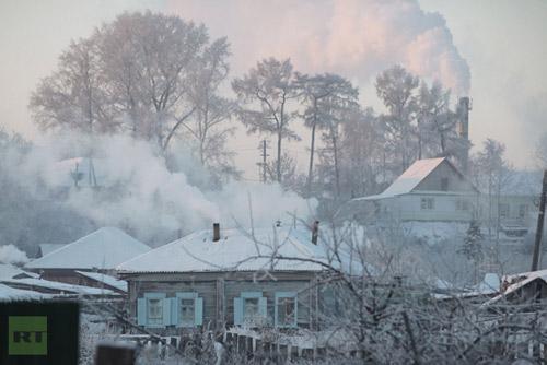 Chùm ảnh: Giá rét kỷ lục ở Nga - 13