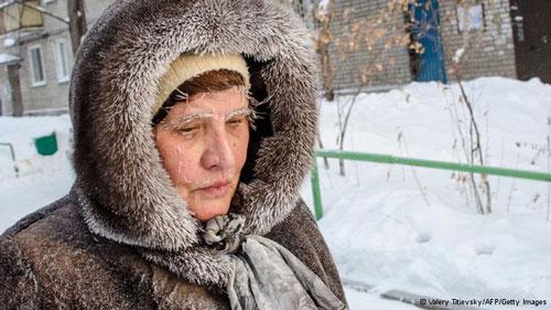 Chùm ảnh: Giá rét kỷ lục ở Nga - 3