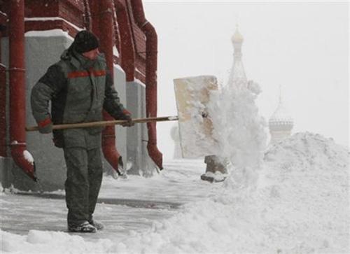 Chùm ảnh: Giá rét kỷ lục ở Nga - 5