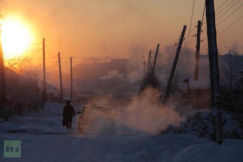 Chùm ảnh: Giá rét kỷ lục ở Nga - 7
