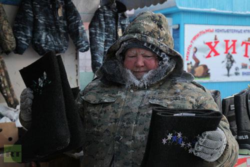 Chùm ảnh: Giá rét kỷ lục ở Nga - 8
