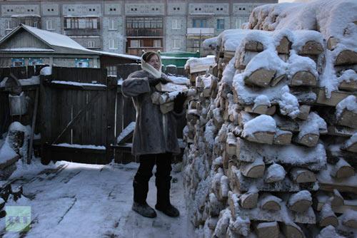 Chùm ảnh: Giá rét kỷ lục ở Nga - 10