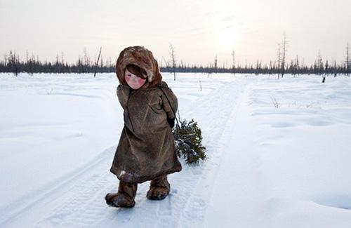 Chùm ảnh: Giá rét kỷ lục ở Nga - 6