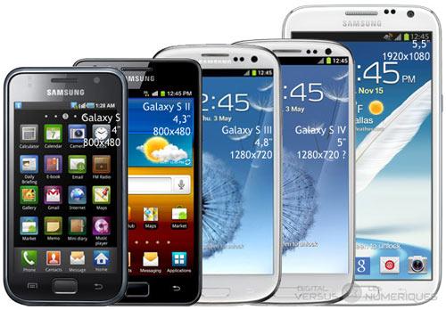 Samsung tung 510 triệu điện thoại năm 2013 - 1