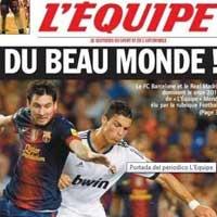 Barca, Real áp đảo trong đội hình 2012