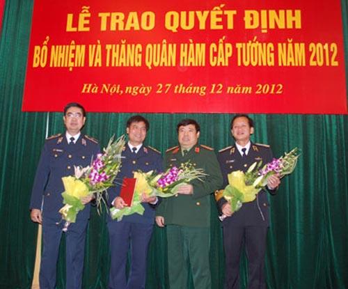 Bộ Quốc phòng tổ chức phong hàm cấp tướng - 2
