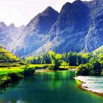 Du lịch - Thiên nhiên Cao Bằng đẹp hơn tranh lụa