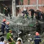 Tin tức trong ngày - Sập công trình UBND huyện gây chết người