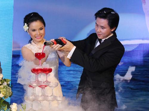 Thu Ngọc (Mây Trắng) rạng rỡ ngày cưới - 5