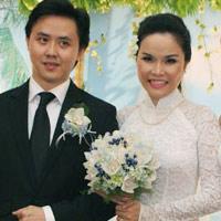 Thu Ngọc (Mây Trắng) rạng rỡ ngày cưới