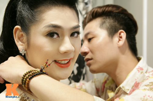 Lâm Chi Khanh và người yêu gây chú ý ở Hà Nội - 10