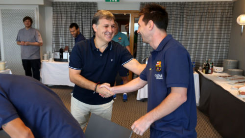 Thày trò Barca tự tin không cần Messi - 1