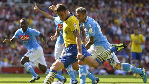 "Benitez: ""Napoli không hề e sợ Arsenal"" - 1"