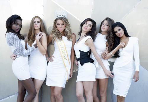 Hà Anh đồng hành cùng Miss Global - 7