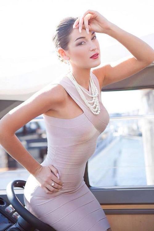 Hà Anh đồng hành cùng Miss Global - 5