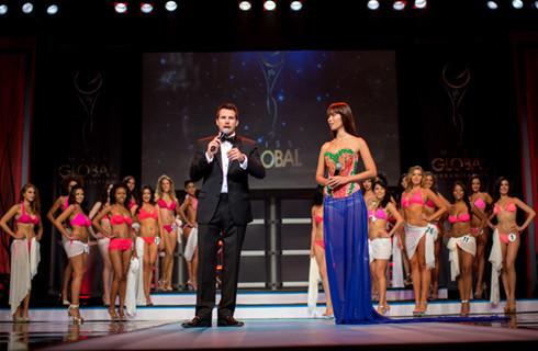 Hà Anh đồng hành cùng Miss Global - 2