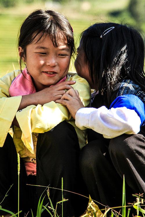 Nụ cười hồn nhiên của trẻ em Mù Cang Chải - 10