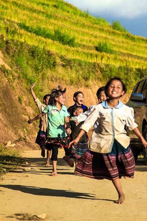 Nụ cười hồn nhiên của trẻ em Mù Cang Chải - 5