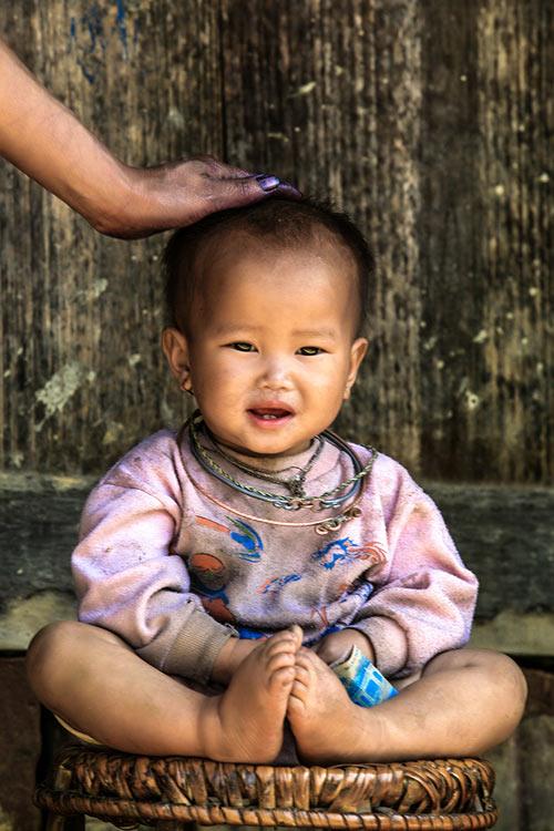 Nụ cười hồn nhiên của trẻ em Mù Cang Chải - 1
