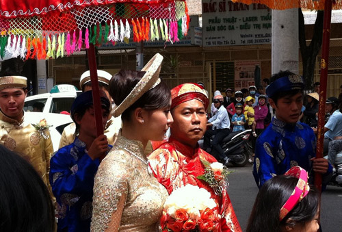 Muôn màu cảnh cưới hỏi của sao Việt - 9